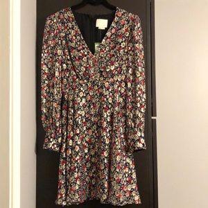 Kate Spade Floral Park Dot Dress New size-0